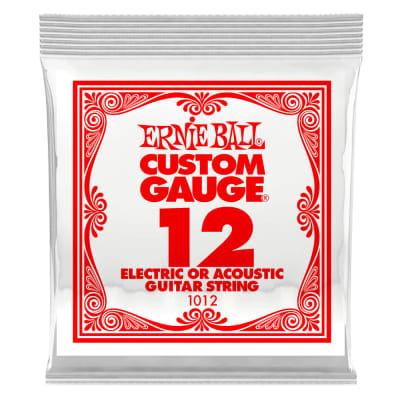 Ernie Ball .012 Single Plain Steel String