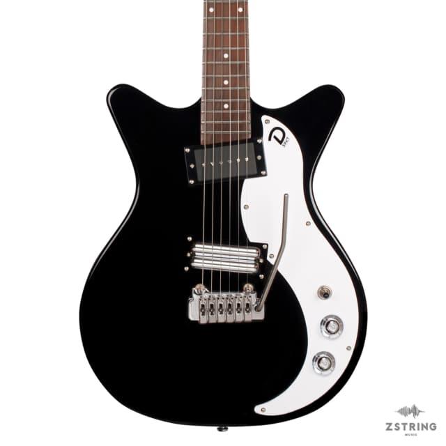 Danelectro 59XT - Black with Wilkinson Tremolo image