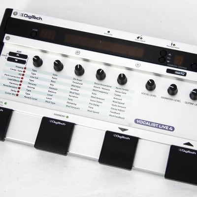 DigiTech Vocalist Live 4 Vocal Effect Processor
