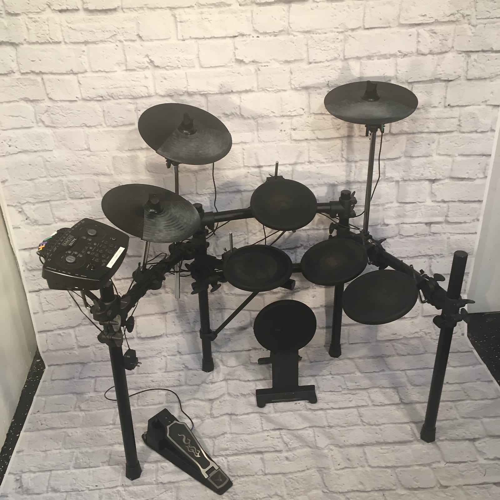 simmons sd7pk electronic drum kit 2006 reverb. Black Bedroom Furniture Sets. Home Design Ideas