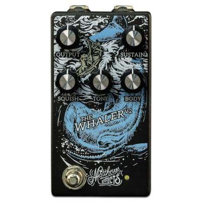 Matthews Effects Whaler Fuzz V2 Pedal