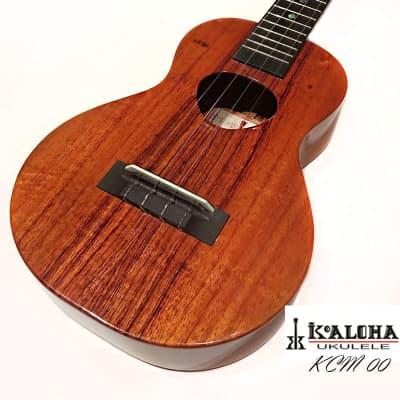 KoAloha KCM-00 All solid Hawaiian Koa handcrafted Concert ukulele