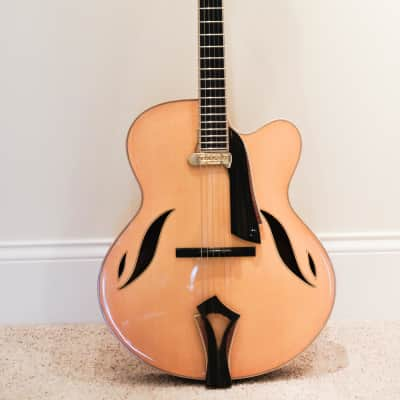 Grimes 35th Anniversary Archtop with 60's DeArmond 1100 for sale