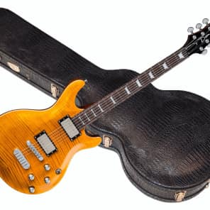 Dean Icon Flame Trans Amber