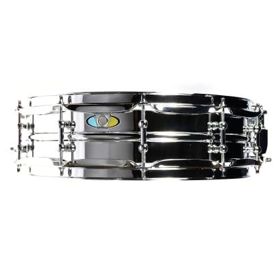 "Ludwig LW0414SL Supralite 4x14"" Steel Snare Drum"