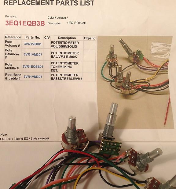 Phenomenal Ibanez Sr300 Sr305 Bass Circuit Board Preamp Reverb Wiring 101 Mecadwellnesstrialsorg