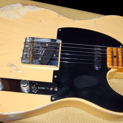 NEW! Fender Custom Shop '51 Reissue Nocaster Relic Modern Specs Handwound P/U's Auhtorized Dealer for sale