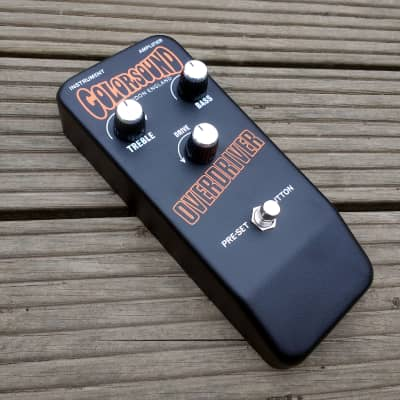 Colorsound Overdriver direct from Sola Sound London built by Stu Castledine for sale