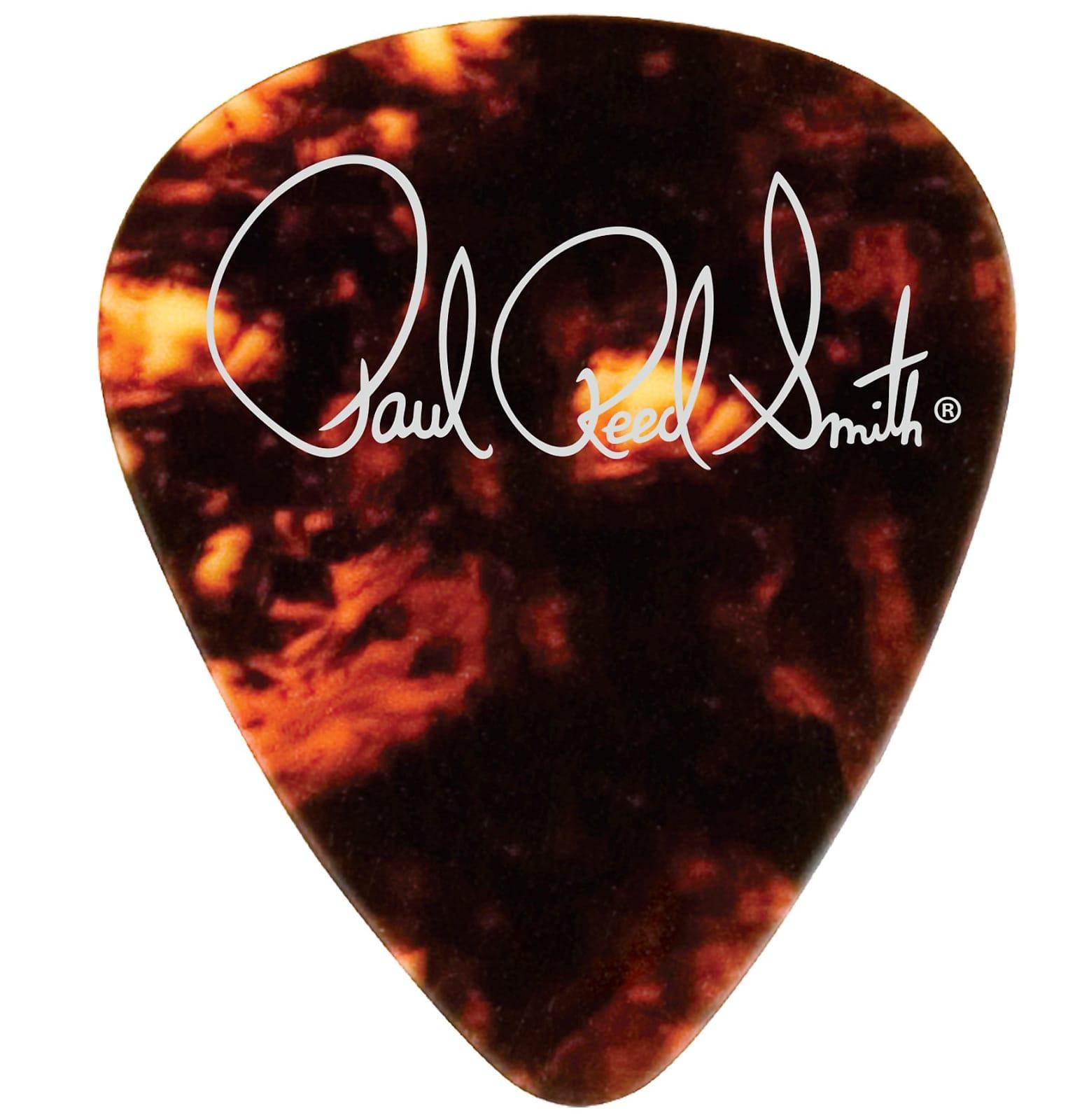 Paul Reed Smith PRS Tortoise Celluloid Guitar Picks (12) – Medium