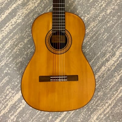 Guillermo Del Pilar Classical Guitar 1976 - Brazilian/Spruce for sale