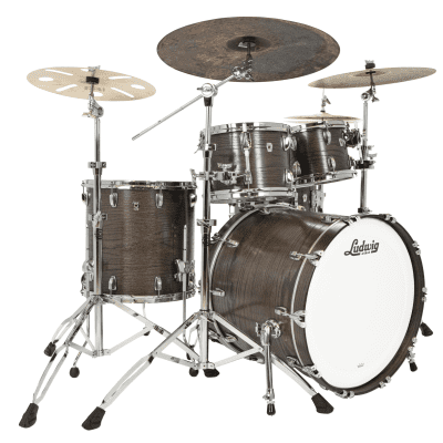 "Ludwig L7482 Classic Oak Mod Outfit 8x10 / 9x12 / 16x16 / 18x22"" Drum Set"