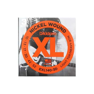 D´Addario EXL140-3D 10-52 Electric Strings 3 Sets