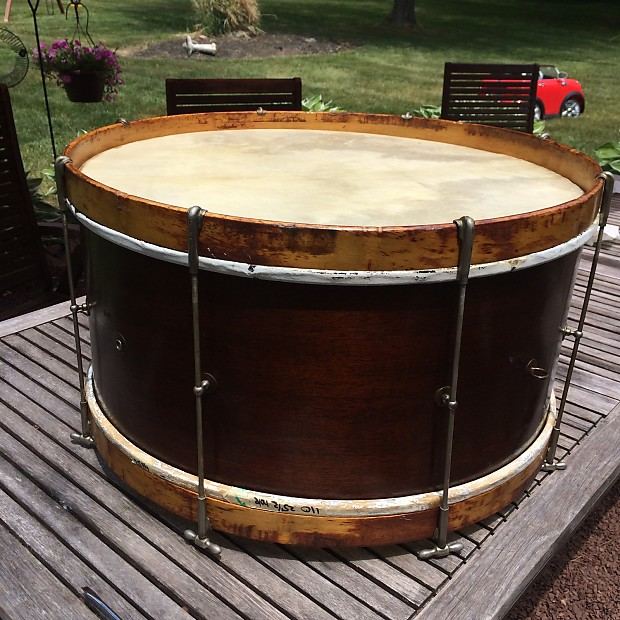ludwig pioneer walnut bass drum reverb. Black Bedroom Furniture Sets. Home Design Ideas