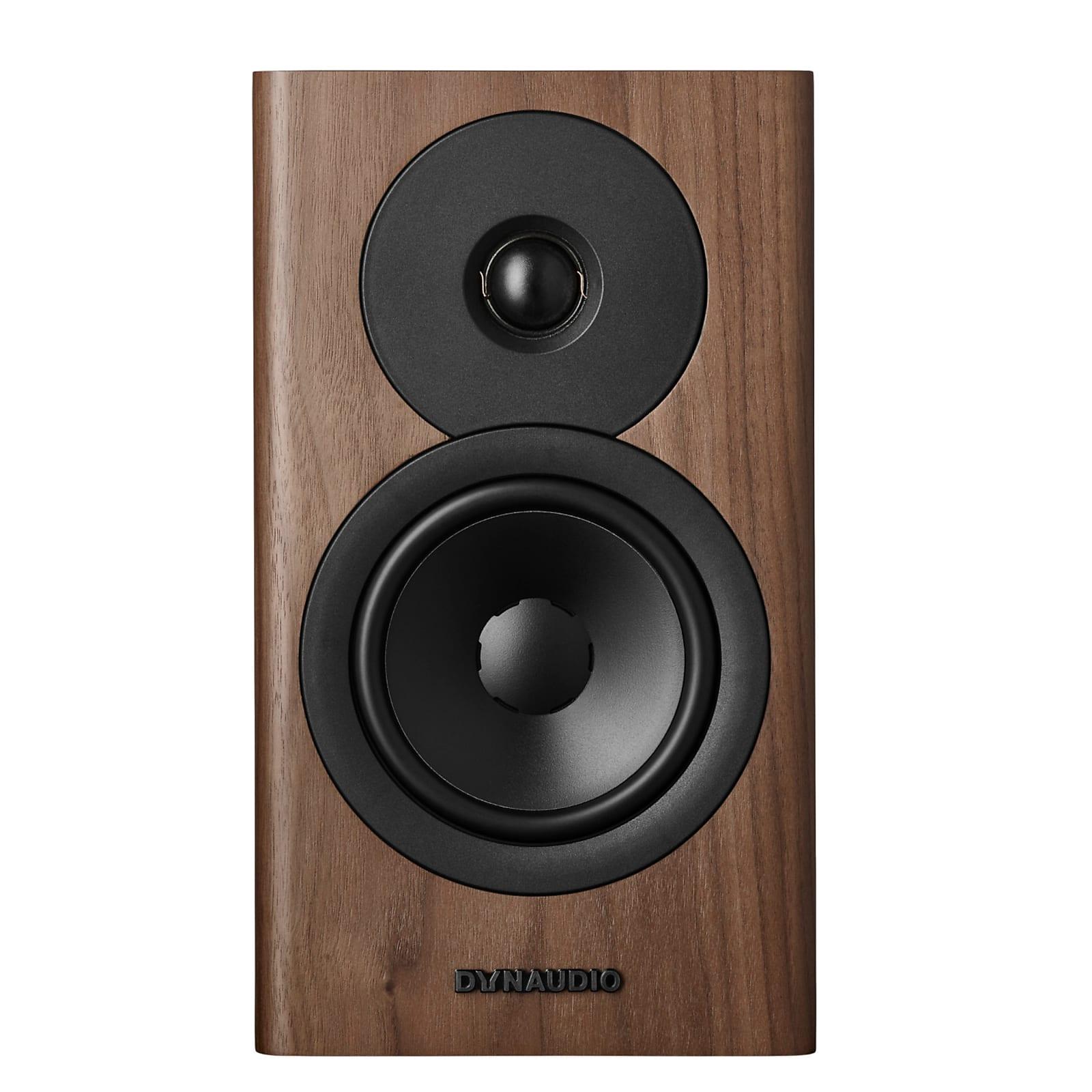 Dynaudio Evoke 10 Bookshelf Speaker Pair - Walnut Wood