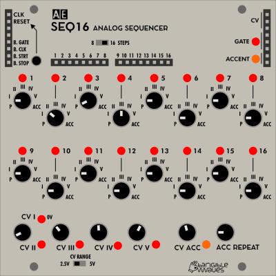 Tangible Waves - SEQ16 [AE Modular Format]