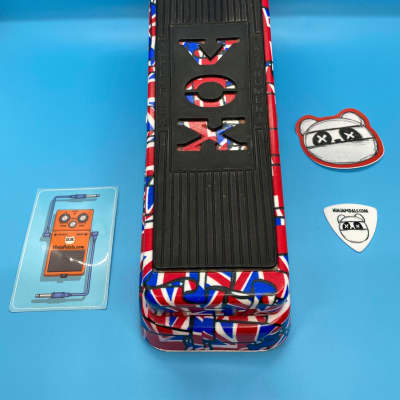 Vox V847-AUJ Limited Edition Union Jack Wah   Fast Shipping!