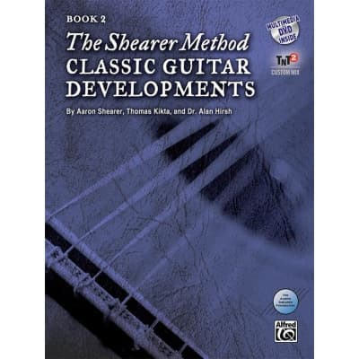 The Shearer Method: Classical Guitar Developments - Book 2 (w/ DVD)
