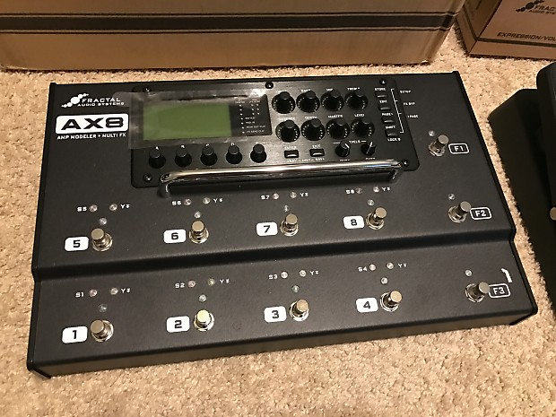 Fractal Audio AX8 Amp Modeler/Multi-FX Processor + over $350 of extras!