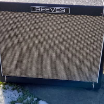Reeves  Custom 12PS 1x12 Combo Amp Black for sale