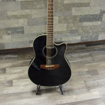 Applause by Ovation AE 128 Needs Repairs Gloss Ebony for sale