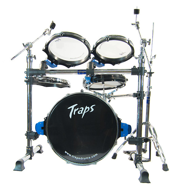 traps a400 nc acoustic drum kit excluding cymbals reverb. Black Bedroom Furniture Sets. Home Design Ideas