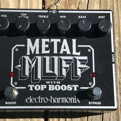 Pre-Owned Electro-Harmonix Metal Muff Distortion with Top Boost USED