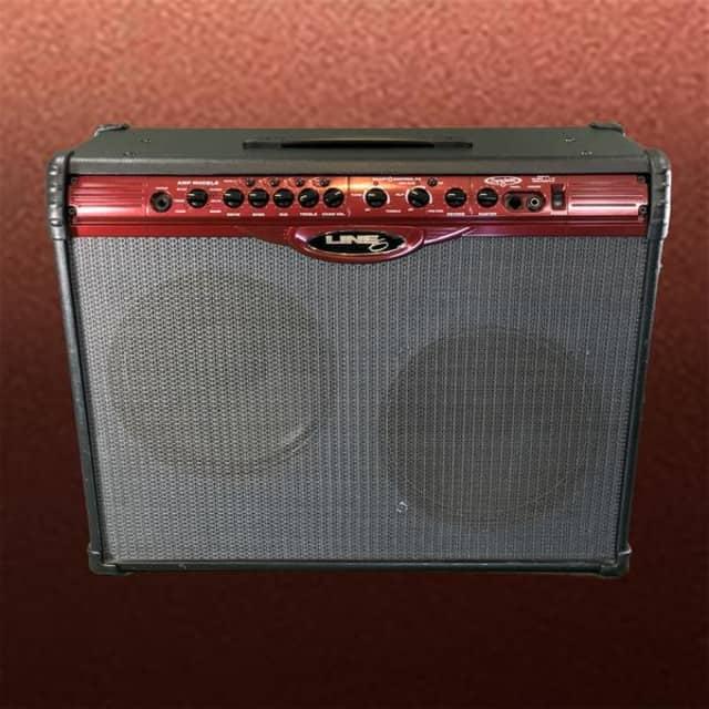 Line6 Spider 212 100 Watt Combo Guitar Amplifier USED image