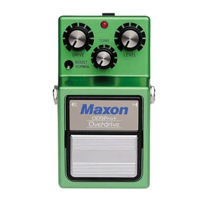 Maxon OD9 Pro Plus Overdrive Guitar Effects Pedal for sale