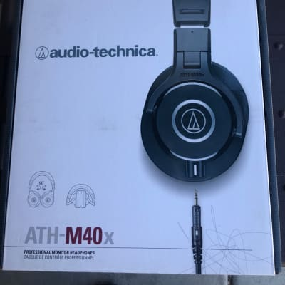 6a20b6f7f28 Audio-Technica ATH-M40x Studio Monitor Headphones