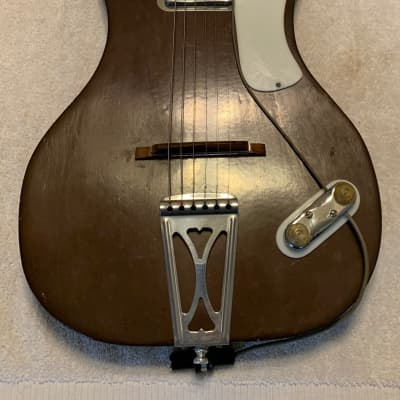 1961 Burke First Aluminum Neck Guitar Made in USA (Pre Veleno/Travis Bean/Electrical Guitar Company) for sale