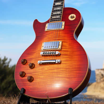 ♥♥ Jaw-Dropping♥♥ Gibson Les Paul Standard (Plus) Left-Handed 2010 Heritage Cherry