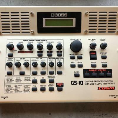 Boss GS-10 Guitar Multi-Effects Unit