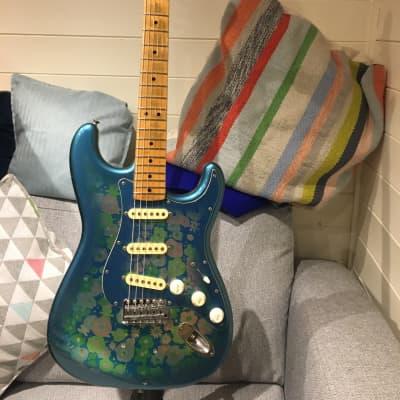 Fender Stratocaster 1986 Blue flowers for sale