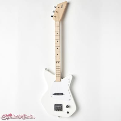 Loog Pro 3-Stringed Solidbody Electric Guitar - White for sale