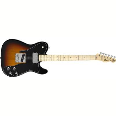 Fender Classic Series '72 Telecaster Custom Electric Guitar, 21 Frets, C Shape Neck, Maple Fingerboard, Passive Pickup, Polyester, 3-Color Sunburst