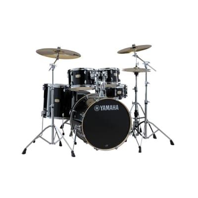 "Yamaha Stage Custom Birch 5-Piece Shell Pack - 22"" Kick, Raven Black"