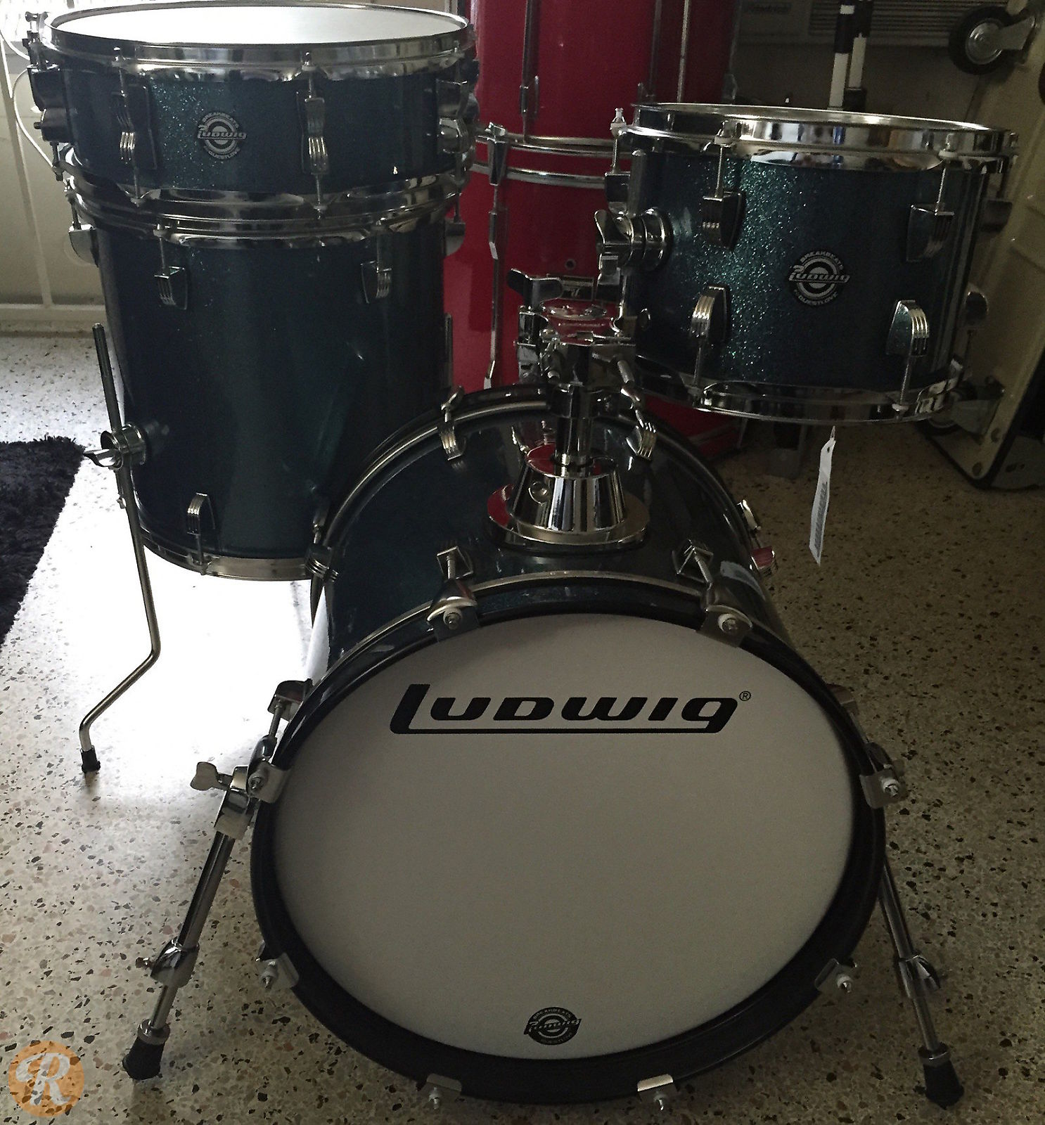 ludwig questlove breakbeats kit 16 10 13 14 reverb. Black Bedroom Furniture Sets. Home Design Ideas