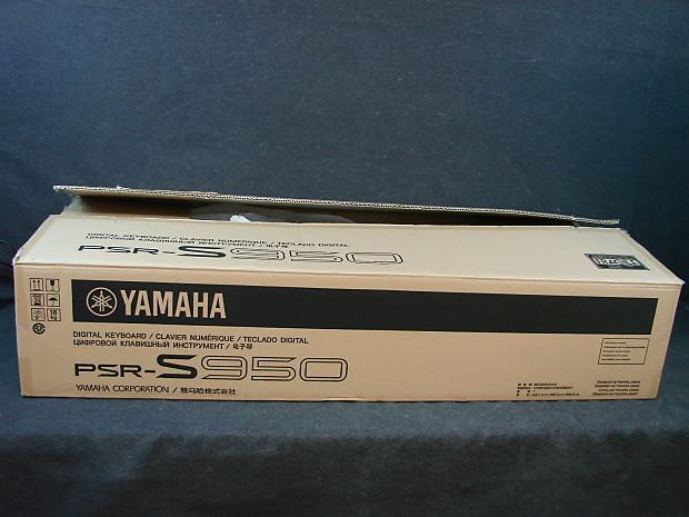 Yamaha PSR-s950 61-Key Professional Arranger Workstation Keyboard PSR S950  w/Box