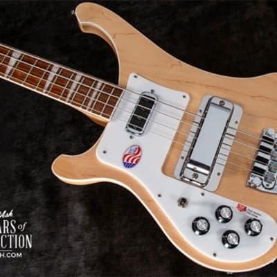 Rickenbacker 4003 Left-Handed Electric Bass Guitar Mapleglo