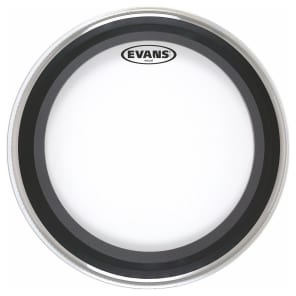 """Evans BD22EMAD EMAD Clear Bass Drum Head - 22"""""""