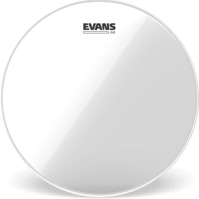 Evans G2 Clear Drum Head - TT08G2 - 8 Inch Clear G2 Drumhead