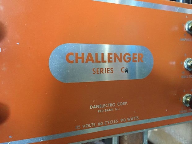 1950s Danelectro Challenger Reverb