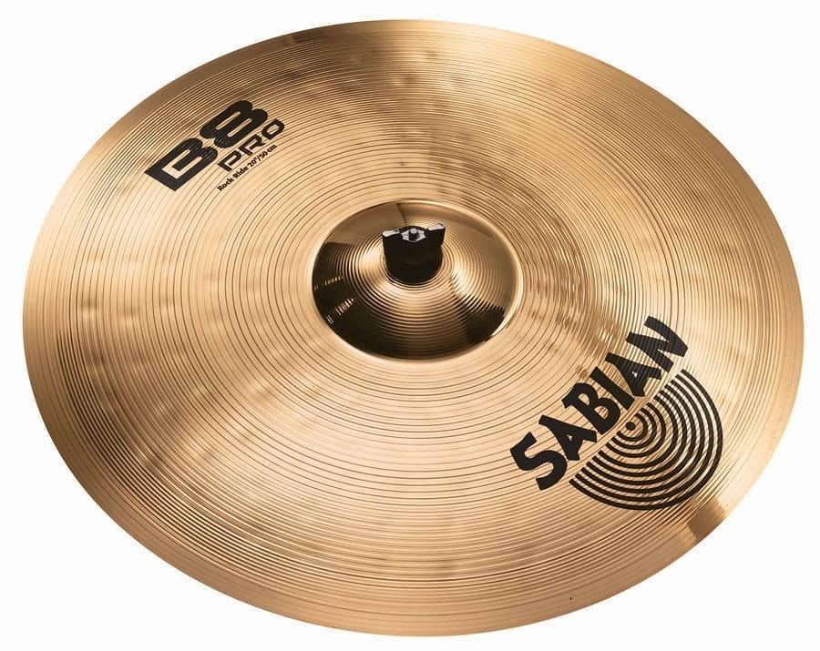 sabian b8 pro rock ride cymbal 20 reverb