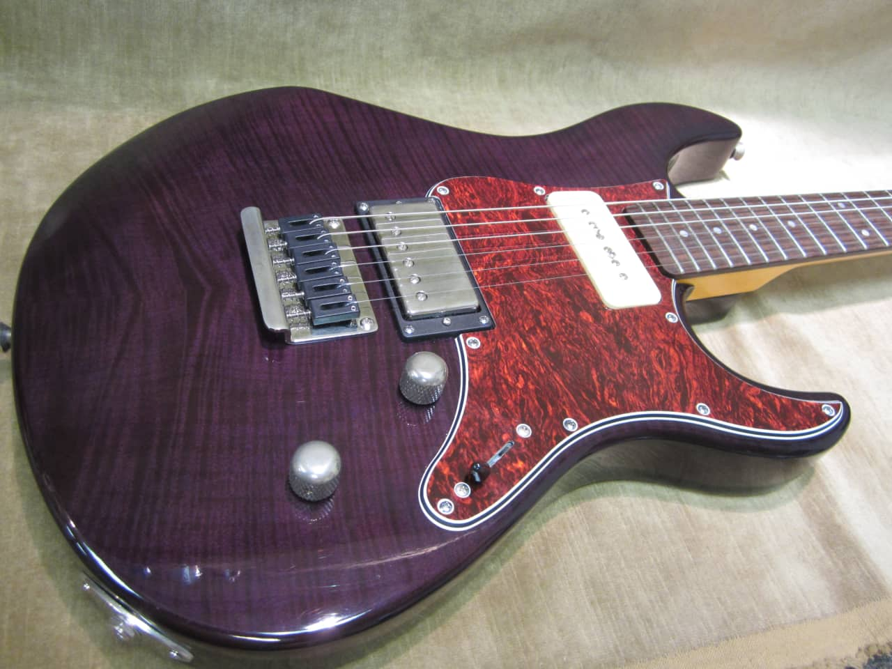2016 yamaha pacifica 611 fm see thru purple flame top reverb. Black Bedroom Furniture Sets. Home Design Ideas