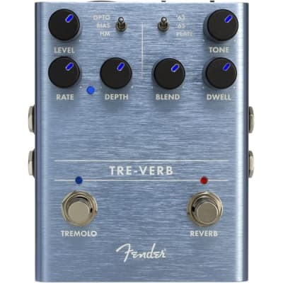 Fender Tre-Verb Digital Reverb/Tremolo Pedal for sale