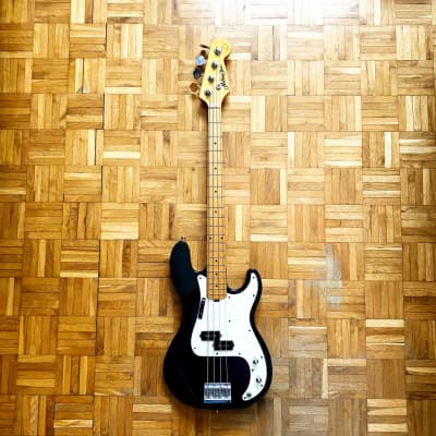 ☆ Rare! ☆ Musima Action Bass (Germany, 1991) vintage precision e-bass in cool dark green finish! for sale