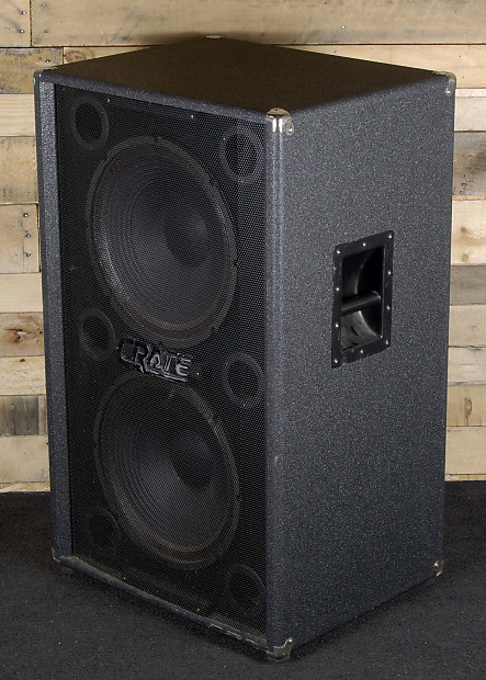 Crate Be 215 2x15 Quot Bass Amplifier Cabinet Reverb