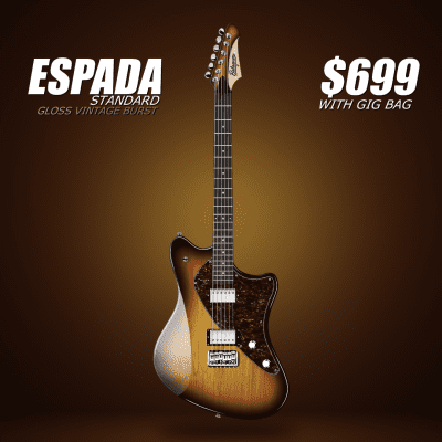 Balaguer Espada Standard (Vintageburst) for sale