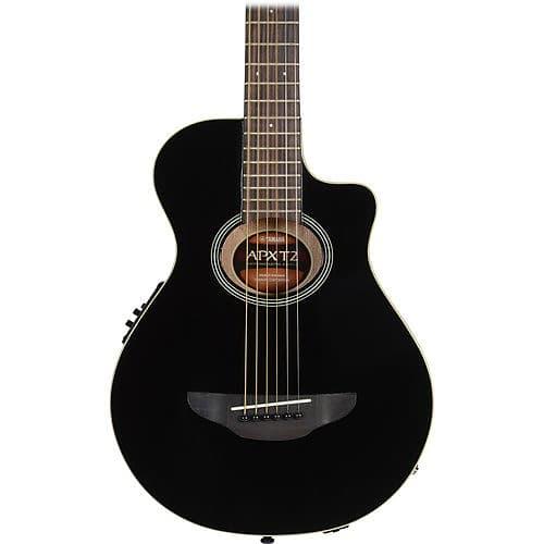 yamaha apxt2 3 4 thinline acoustic electric guitar black reverb. Black Bedroom Furniture Sets. Home Design Ideas
