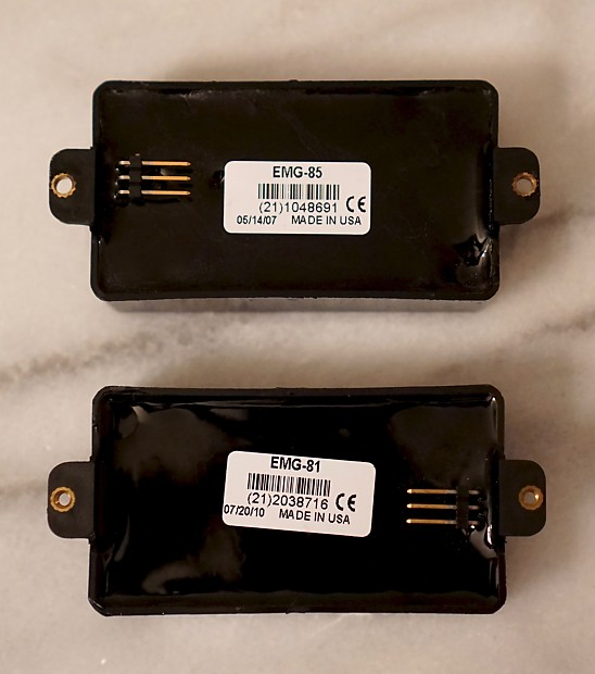 emg 81 & emg 85 (81/85) zakk wylde active humbucker set ... 25k guitar parts emg 81 85 active pickups wiring harness pots for